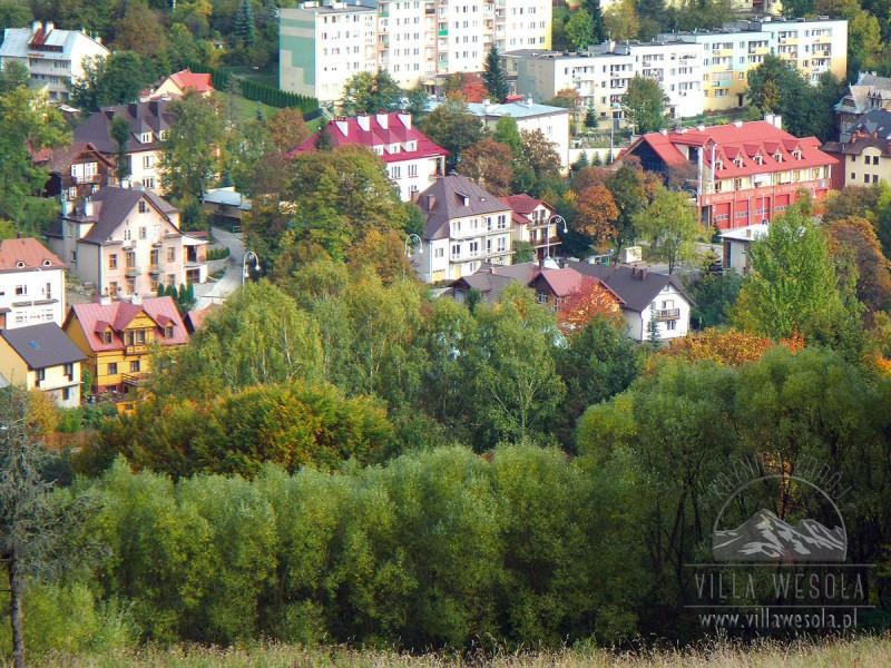 Villa Wesoła Krynica, Trasy Biegowe
